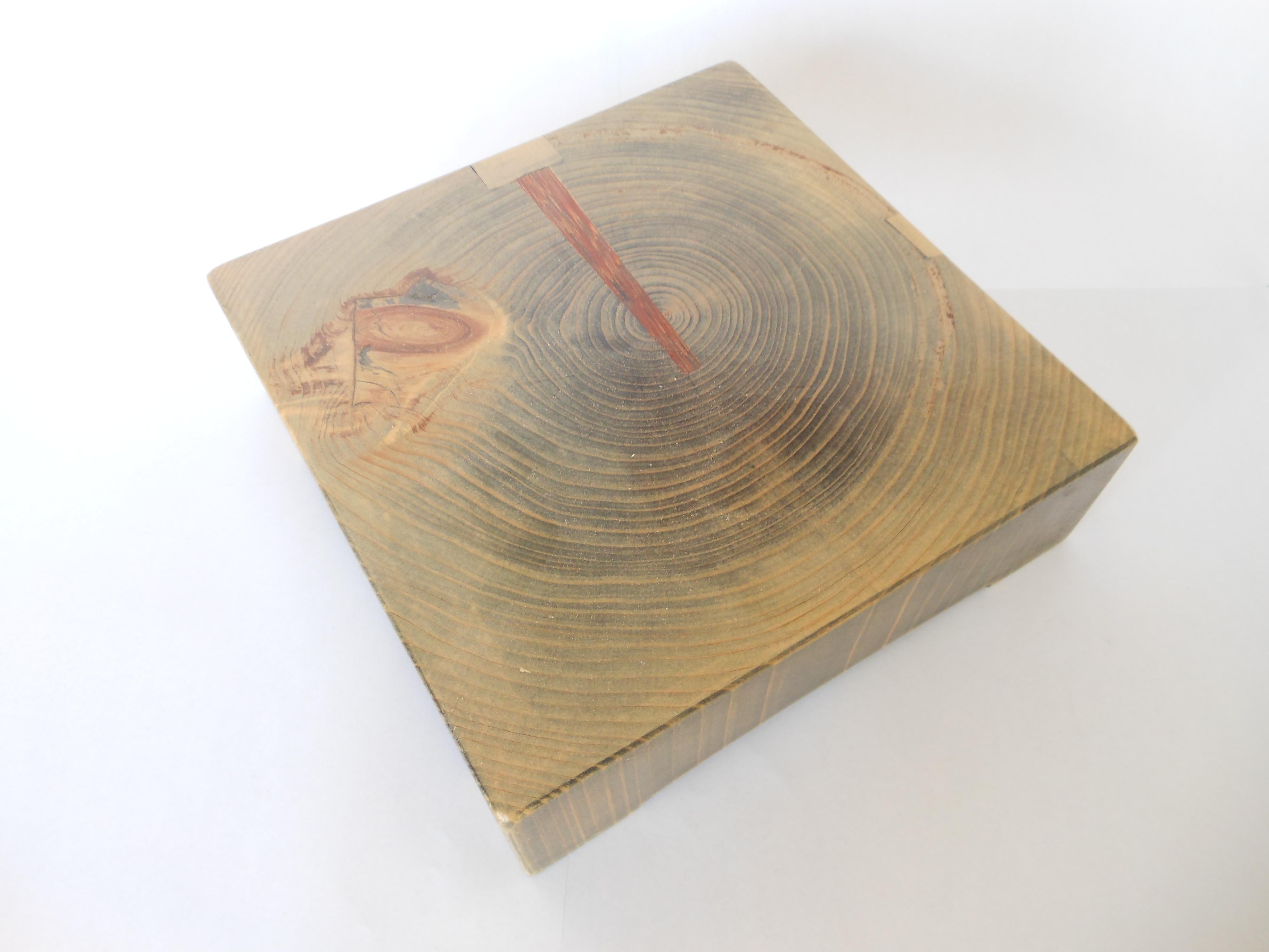 古材 木製サルヴァ - 画像3