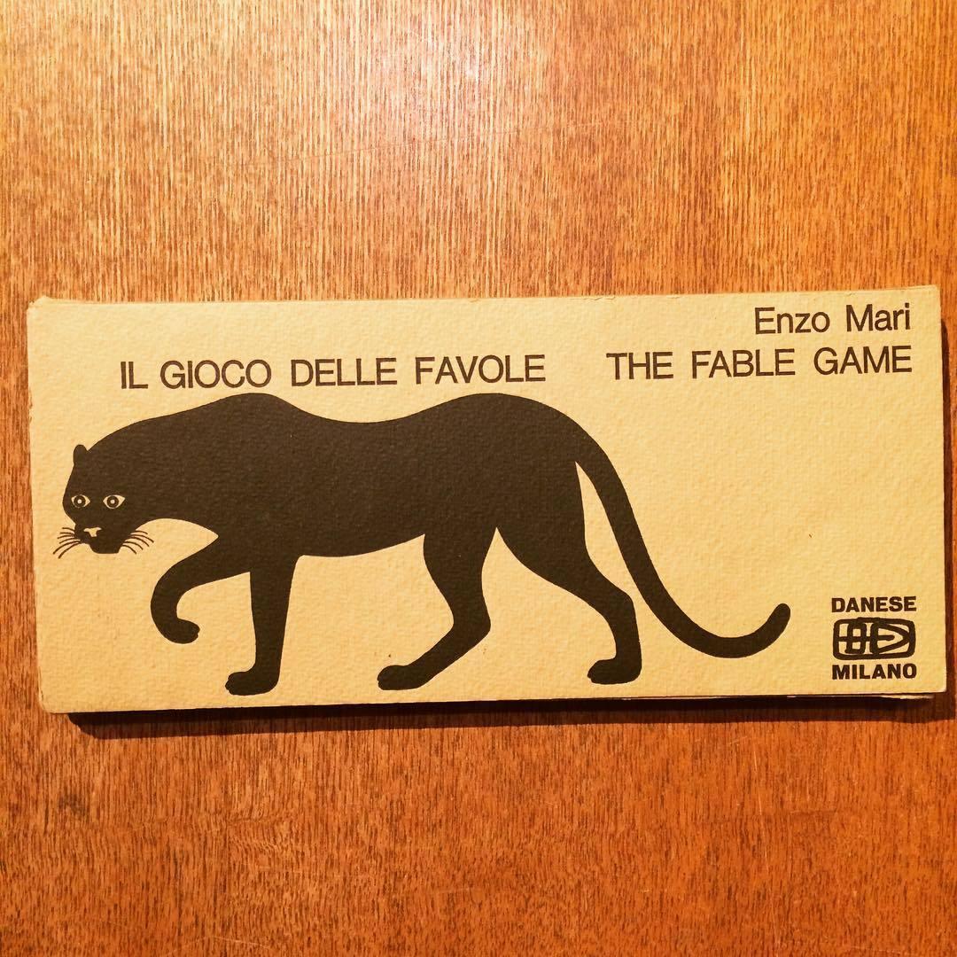 エンツォ・マリ 絵本(ゲーム)「Il gioco delle favole The fable game/Enzo Mari」 - 画像1