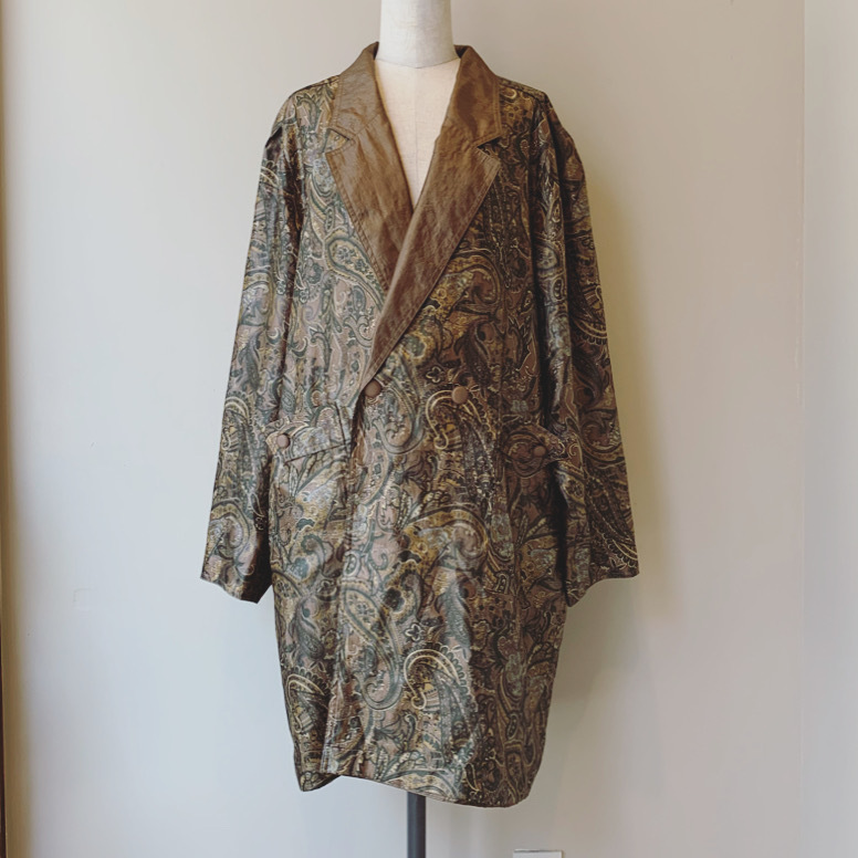 vintage paisley reverseble outer