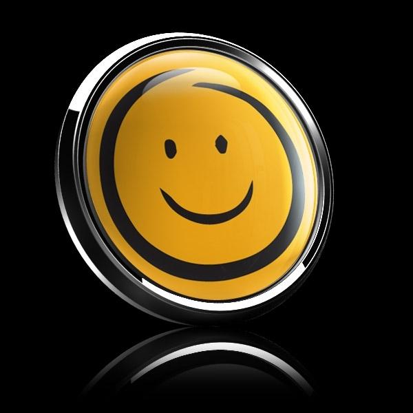 ゴーバッジ(ドーム)(CD1089 - EMOJI SMILE HAND DRAWING) - 画像5