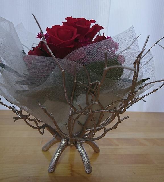 真紅のバラ
