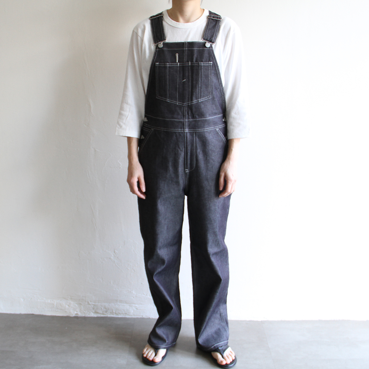 UNION LAUNCH 【 womens 】denim overalls