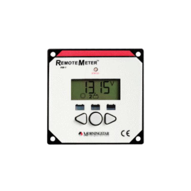 MORNINGSTAR LCD リモートメーター RM-1 チャージコントローラー