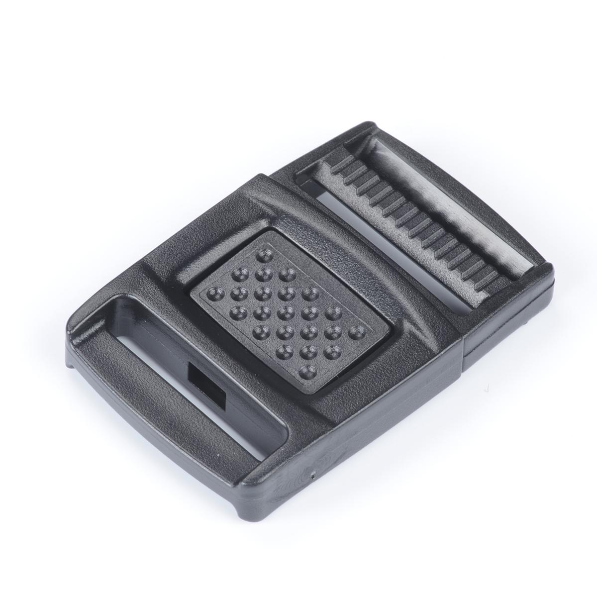 nifco プラスチック フロントリリースバックル 黒 FR15 1個