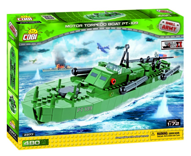 COBI #2377 高速魚雷艇 PT-109