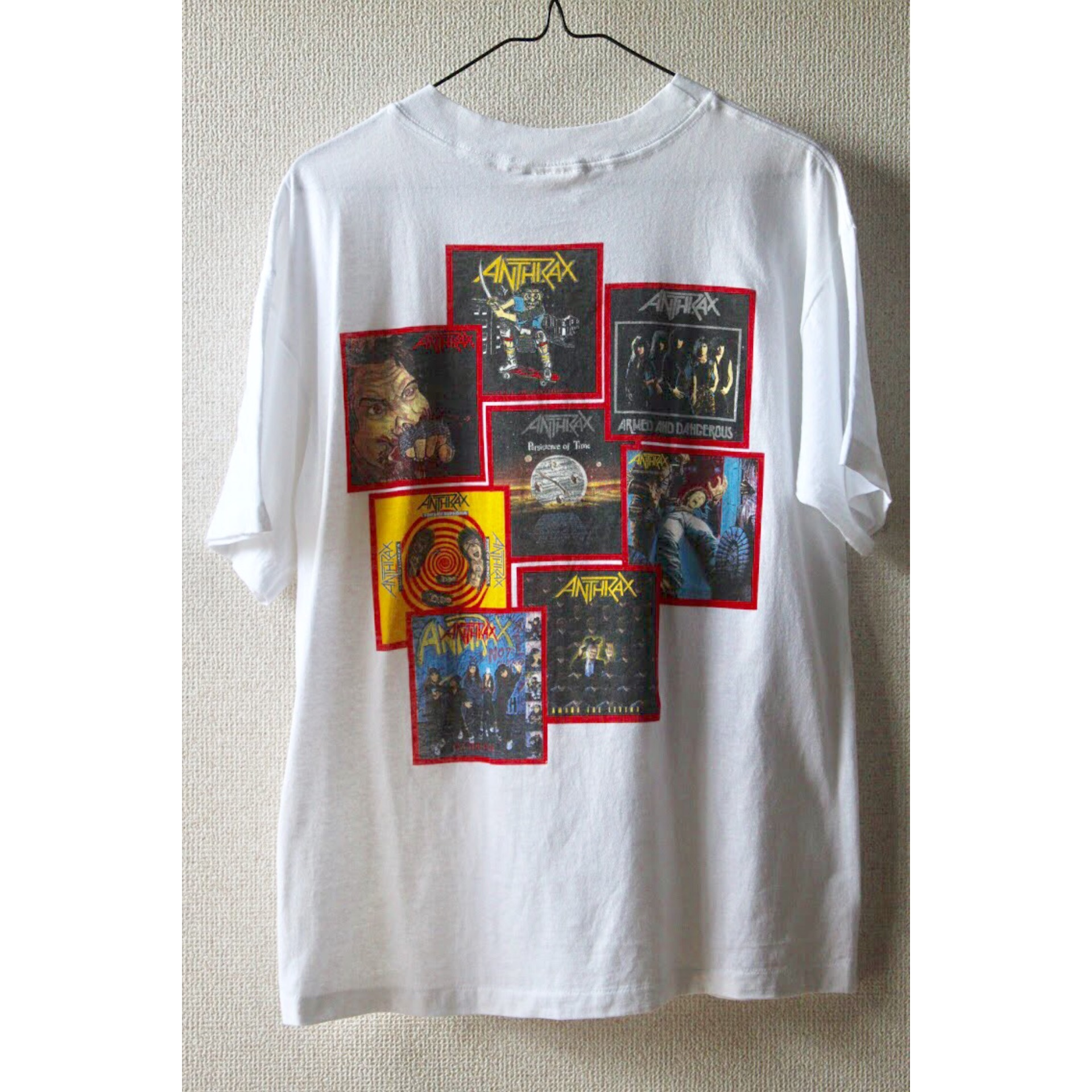 Vintage Anthrax t shirt