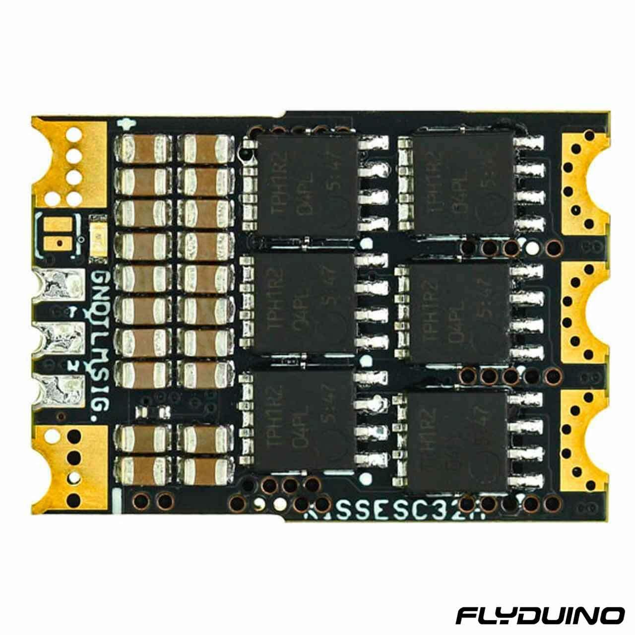 FLYDUINO KISS ESC 2-6S 32A (45A limit) - 32bit brushless Motor Ctrl