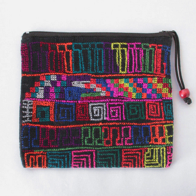 アカ族の刺繍ポーチ /B13/ Snip! / THAI タイ