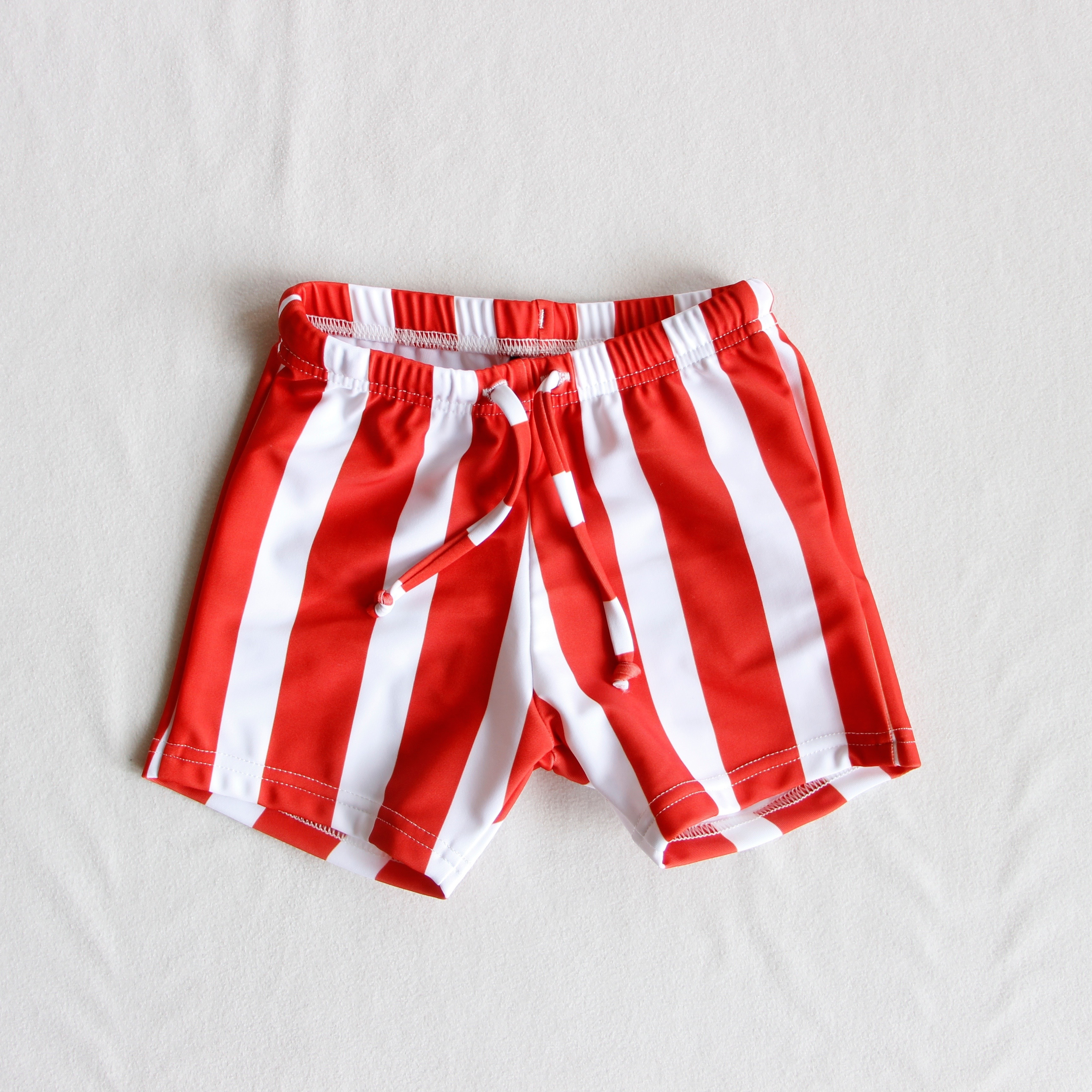 《WOLF & RITA 2018SS》CARLOS swimshorts / red stripes / 2-8Y