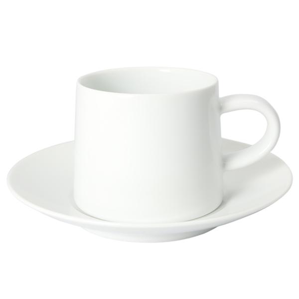M型 カップ&ソーサー 白マット