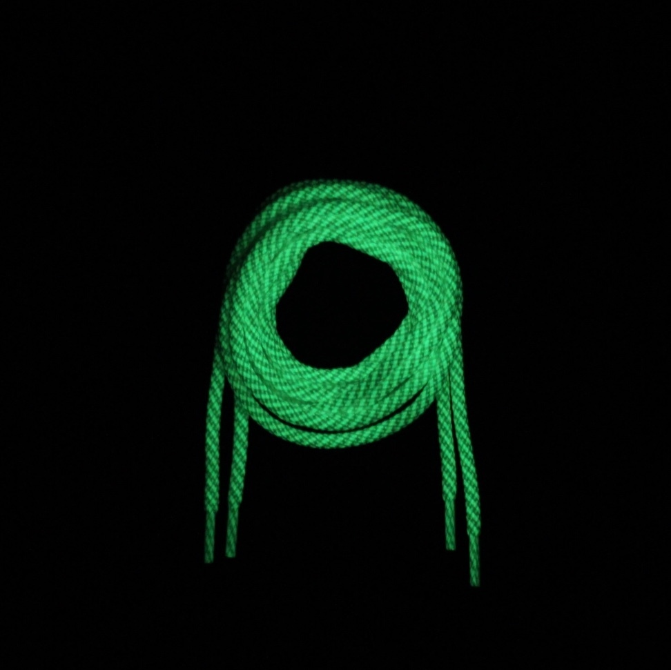 GETABACO G.I.D.ROPE LACES [WHITE GLOW]