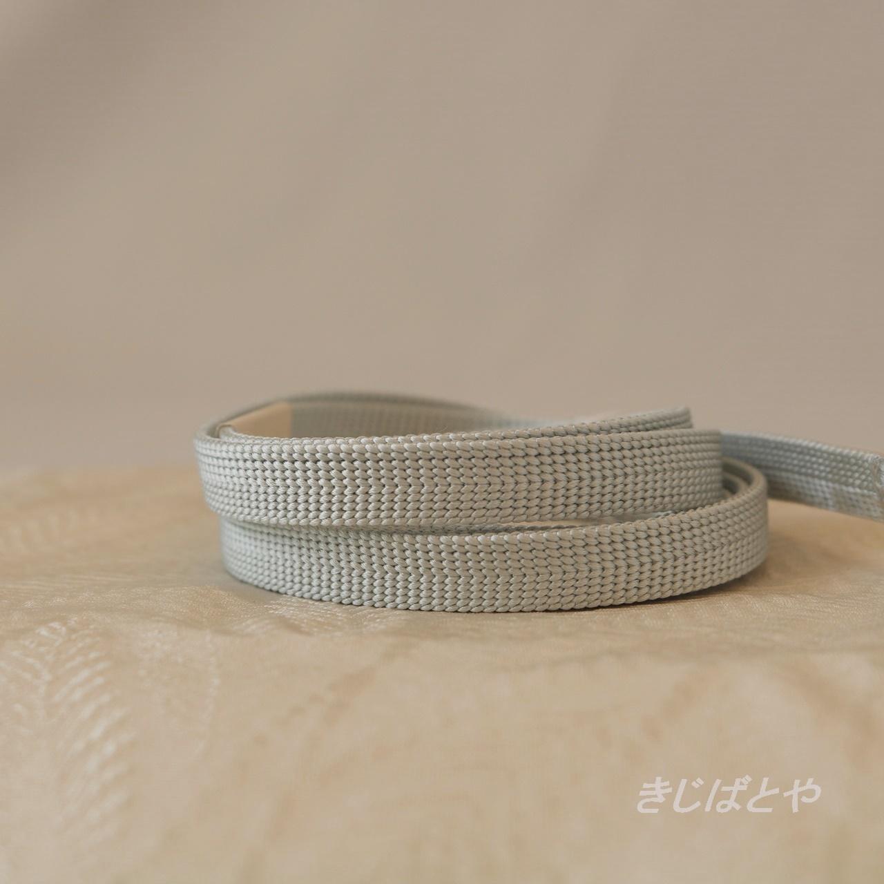正絹 白鼠の三分紐