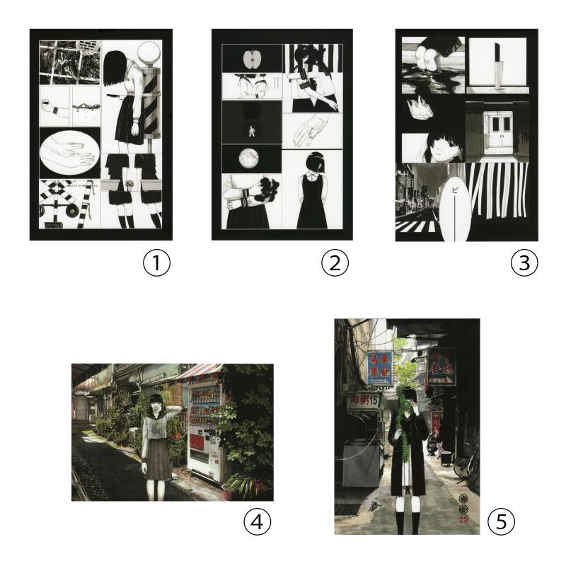 吉田なつ樹 / ポストカード(全5種)