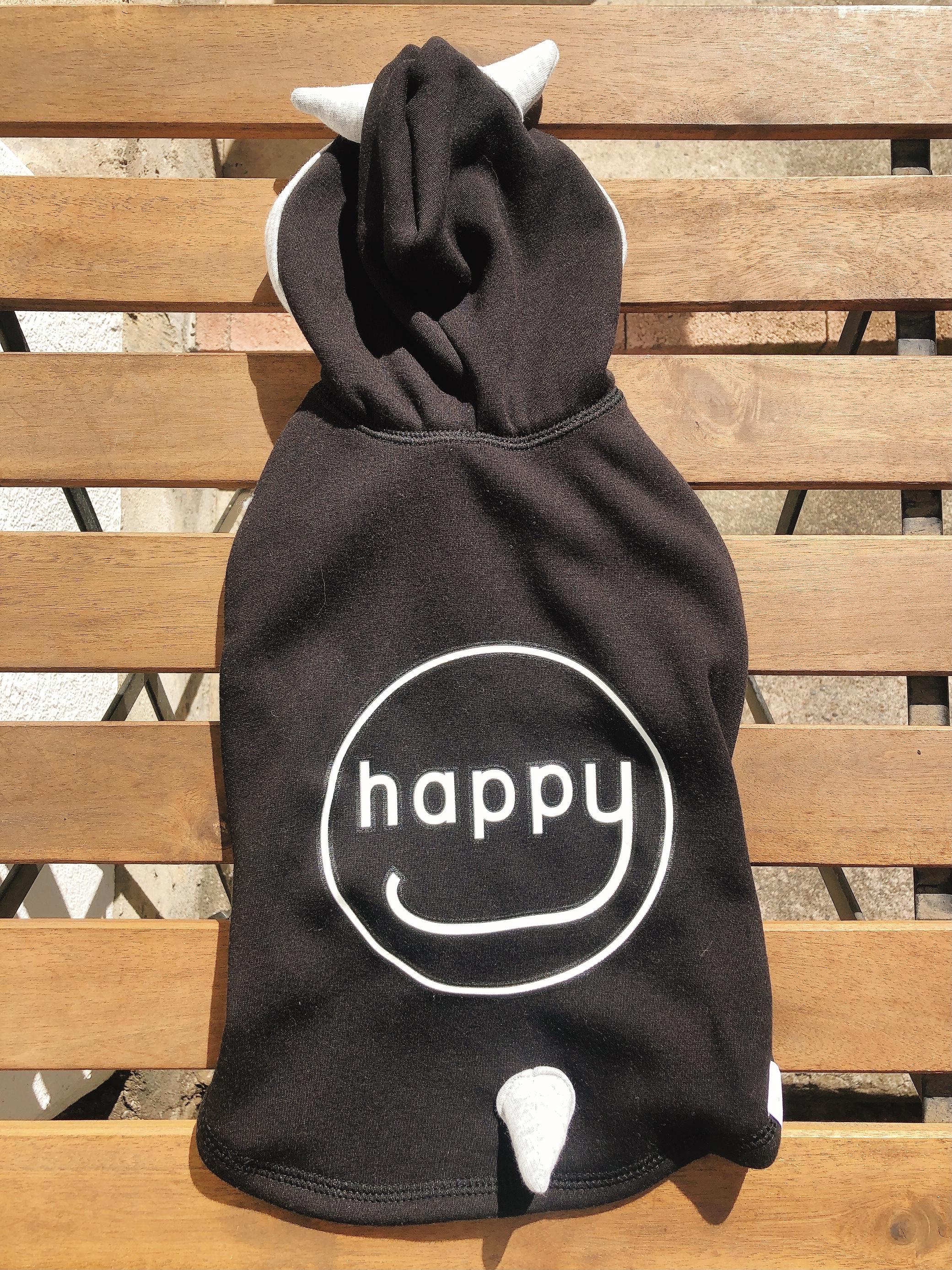 "HAPPY DEVIL HOODIE 20""/ブラック 5号"