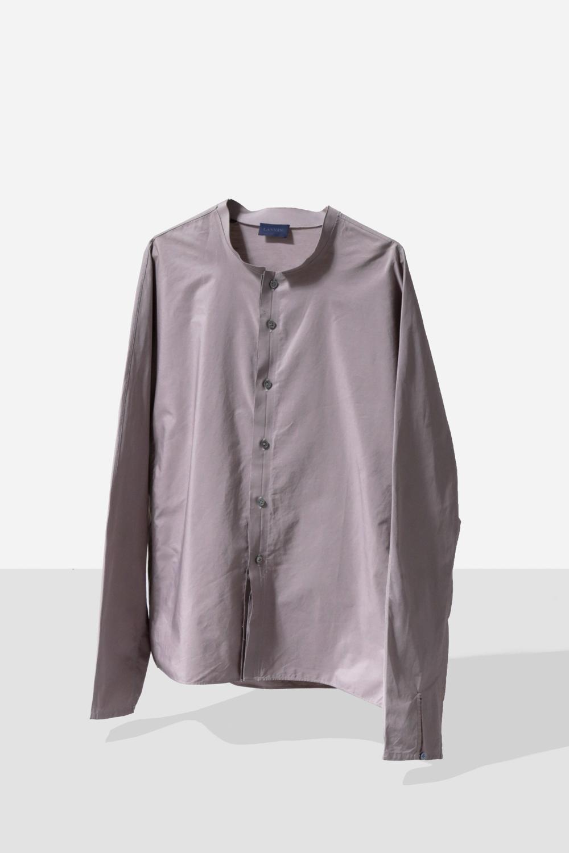 "80's ""LANVIN"" Stand Collar Shirt"