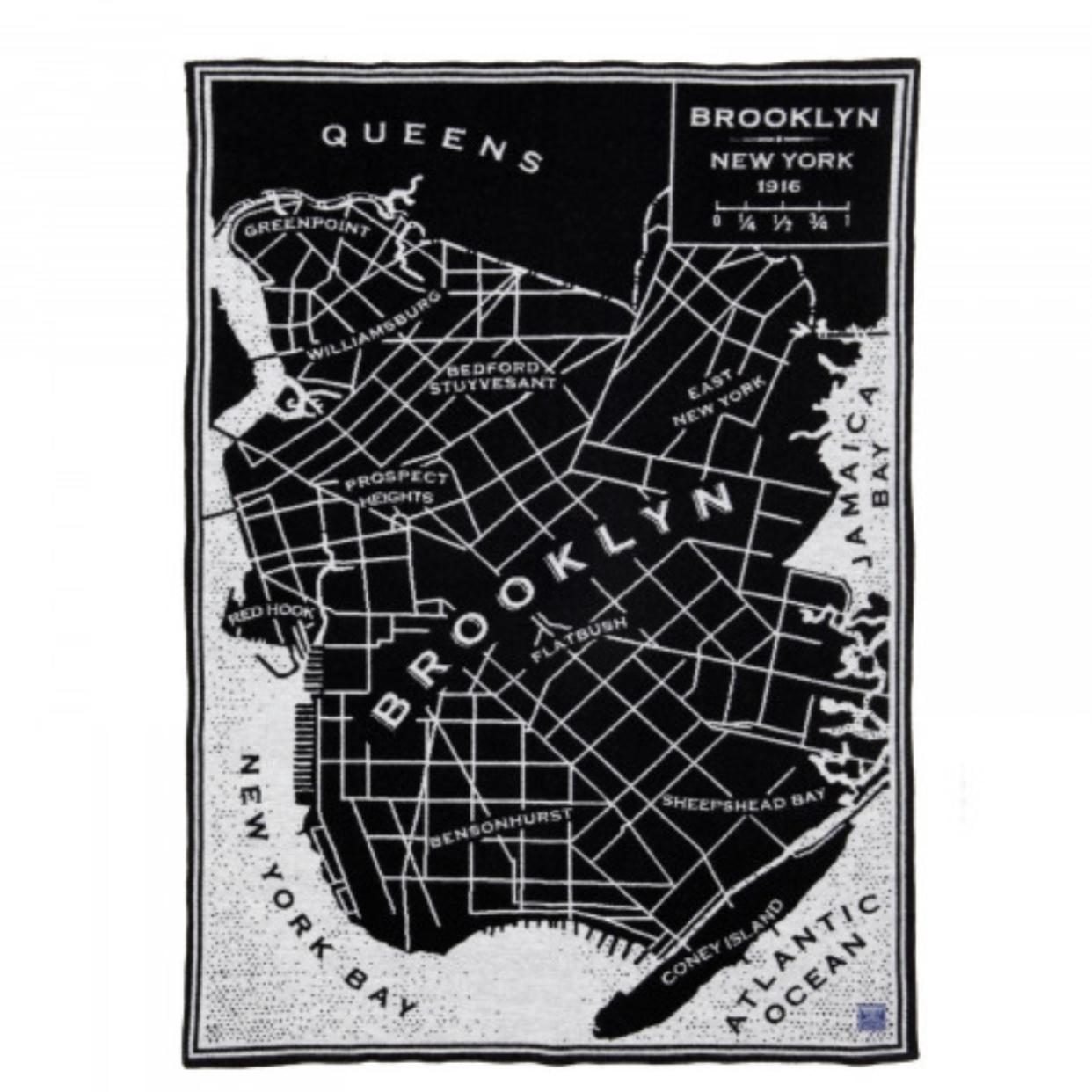 Faribault Woolen Mills ファリバルト Brooklyn ブランケット 送料無料!
