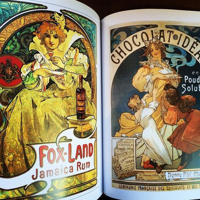 画集「Mucha: The Triumph of Art Nouveau」 - 画像3