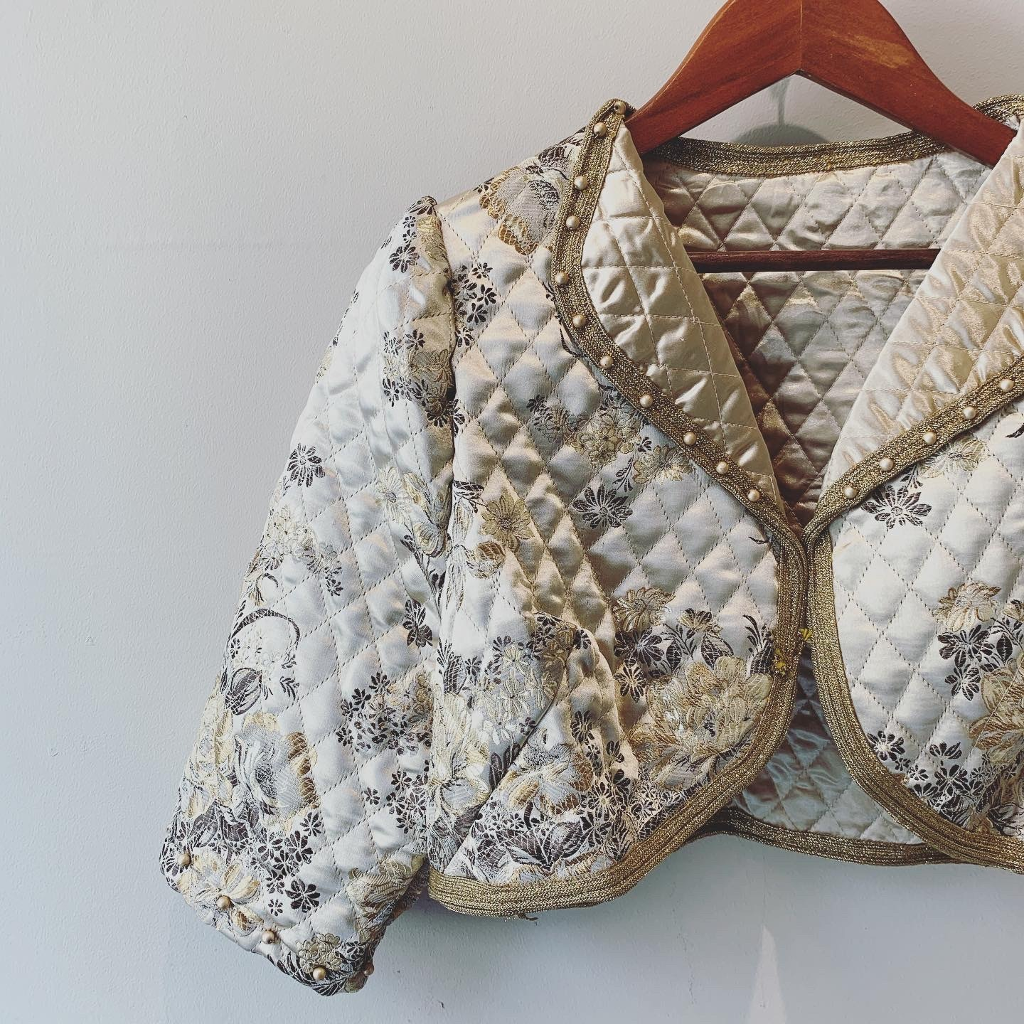 vintage quilting short length tops