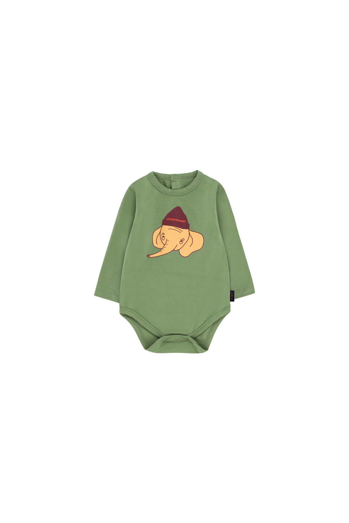 《TINYCOTTONS 2019AW》LUCKYPHANT LS BODY / green wood × sand / 6・9M