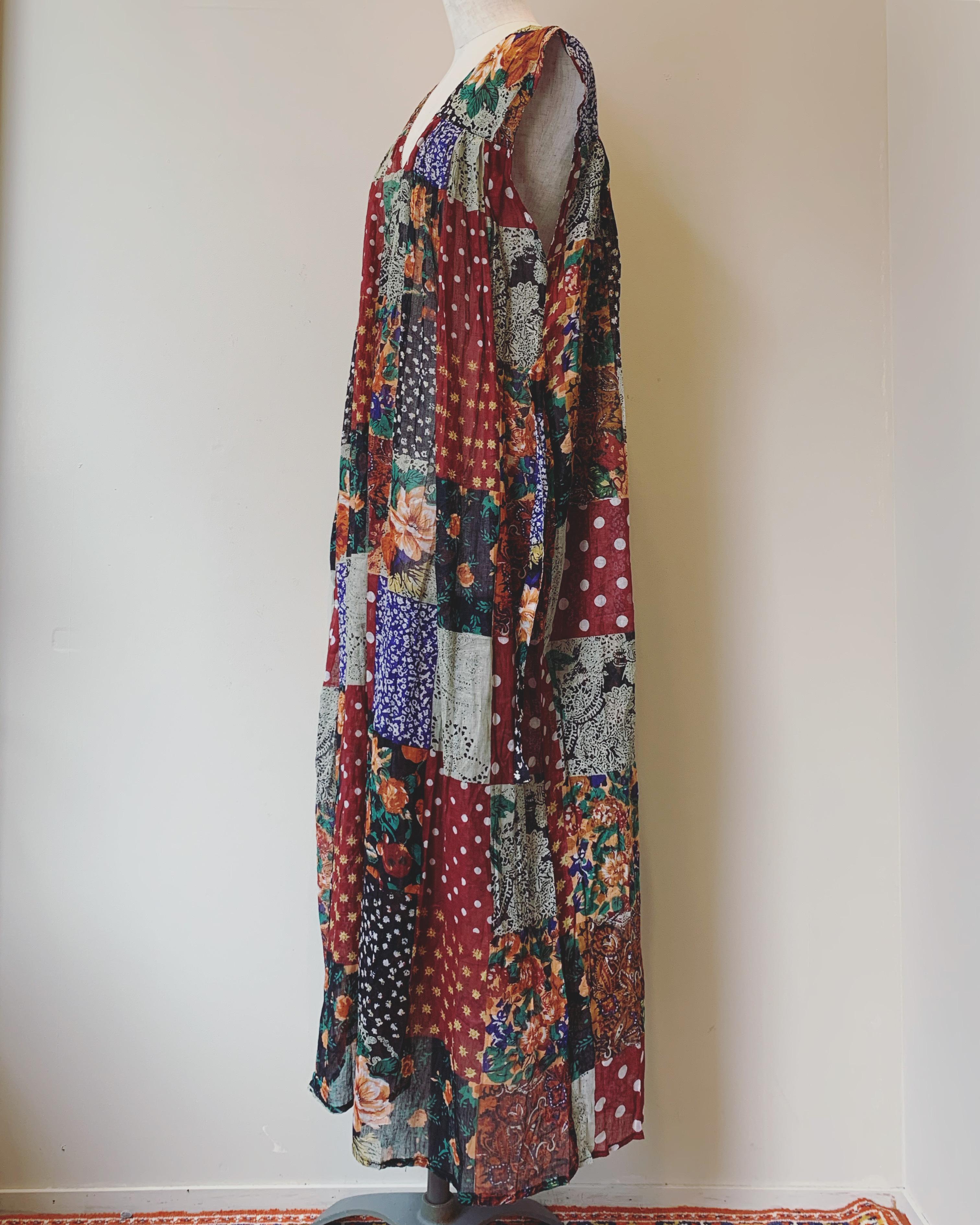vintage indian cotton onepiece