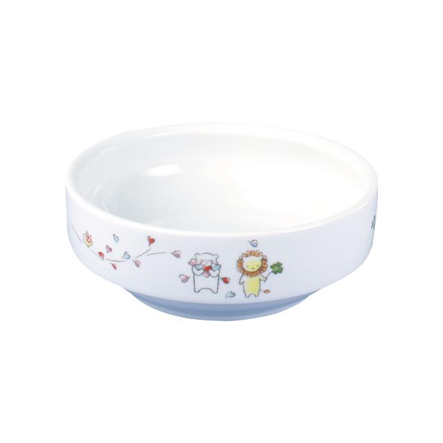 【1712-1360】強化磁器 11.5cm すくいやすい食器 そよかぜ