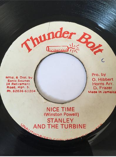 Stanley & The Turbine - Nice Time 【7'】