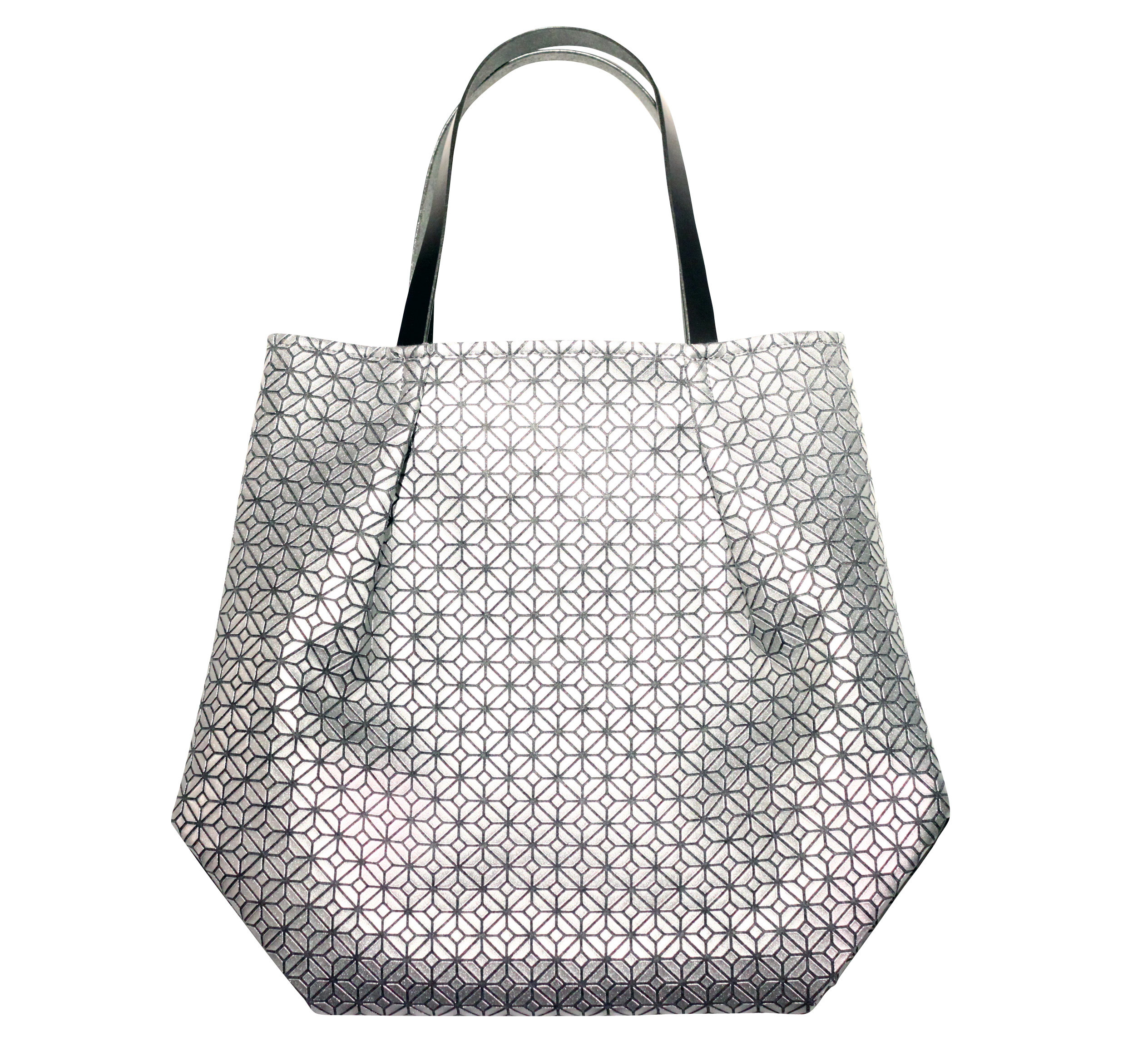 COMMON tote Bag / SILVER GRAY