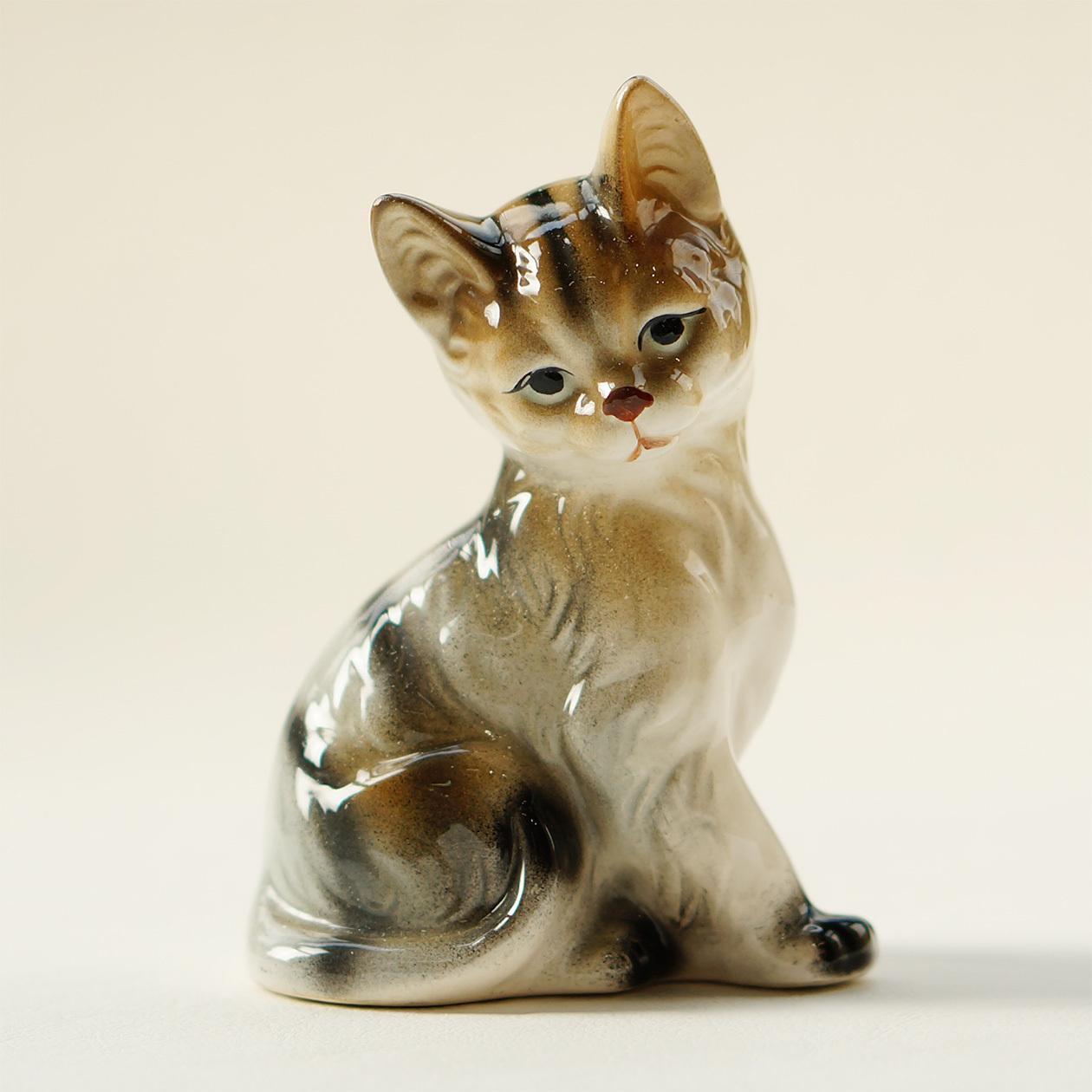 三毛猫のフュギリン