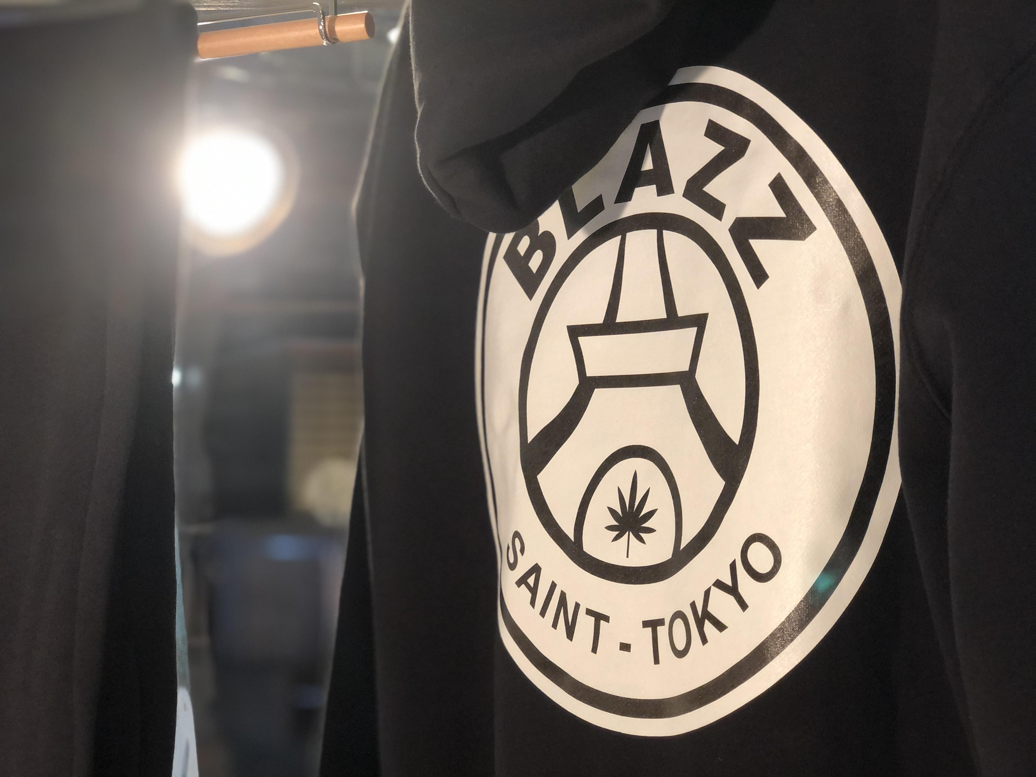 SAINT TOKYO SWEAT SHIRT [BLACK]