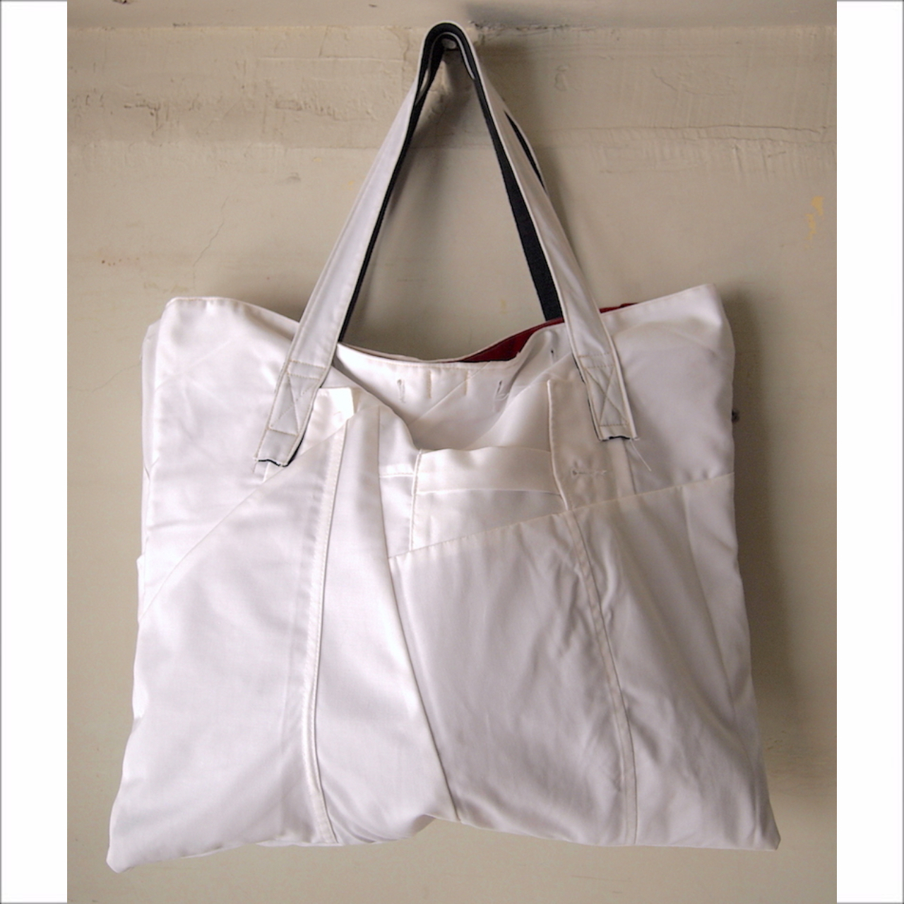 【sandglass】patchwork totebag / 【サンドグラス】パッチワーク トートバッグ