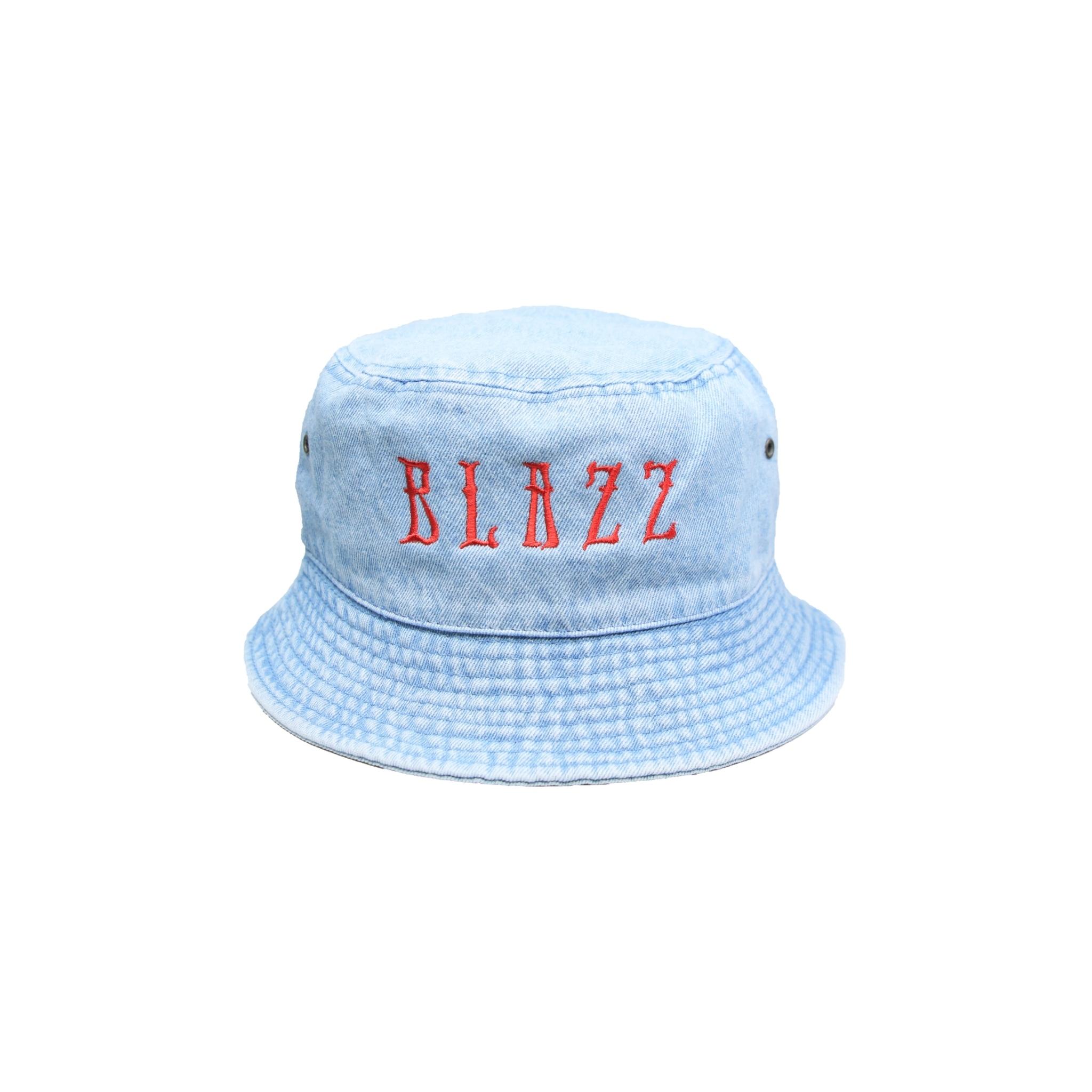 EURO BLAZZ DENIM BUCKET HAT [WASHED]