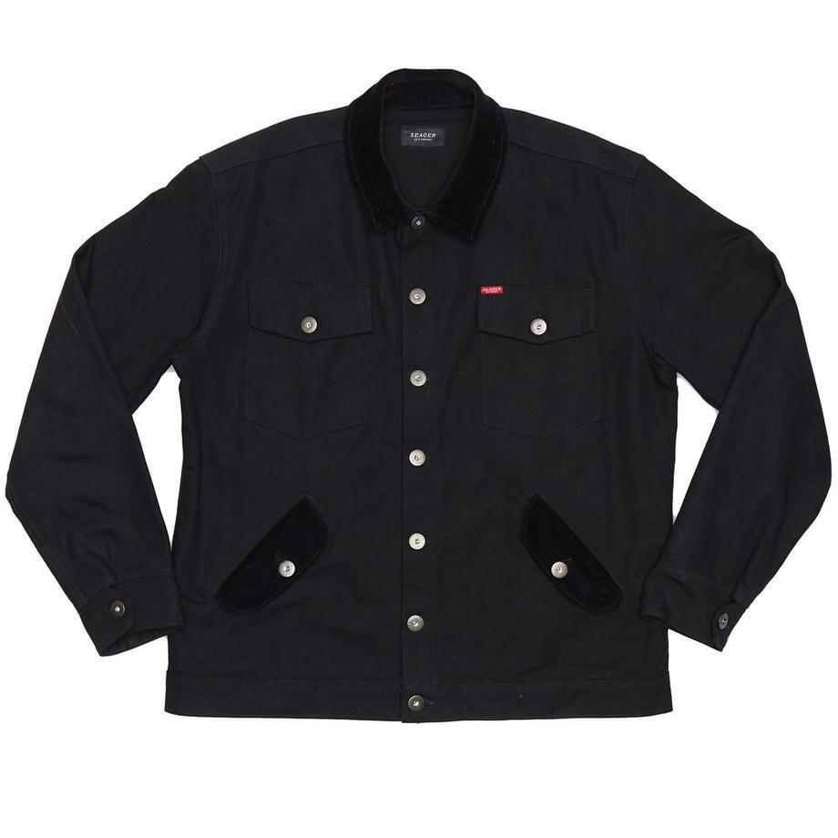 SEAGER #Ranch Canvas Jacket