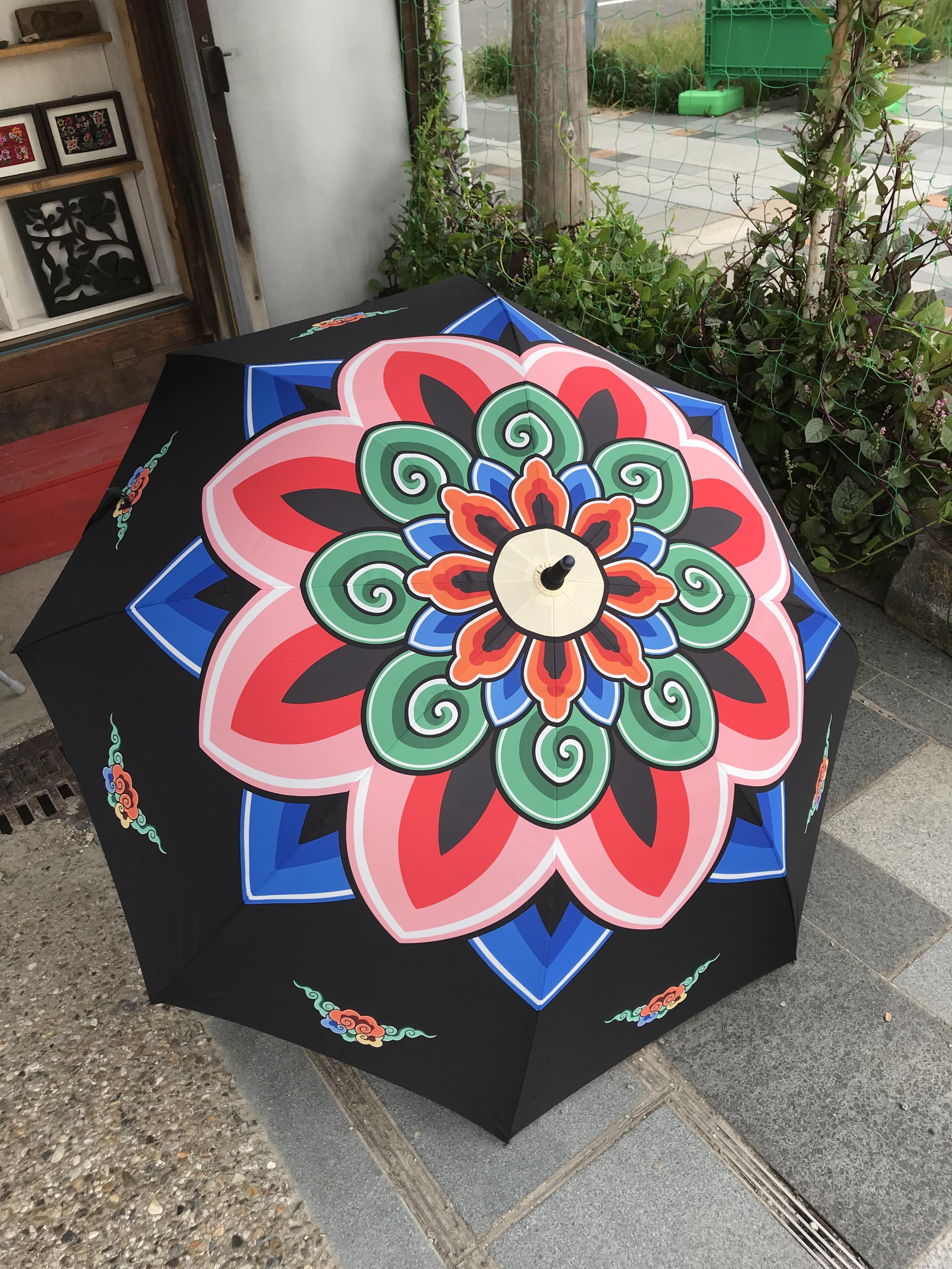 丹青模様の傘・大