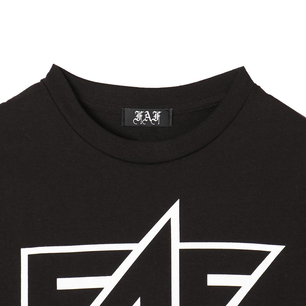 FAF Logo Tee - Black - 画像2
