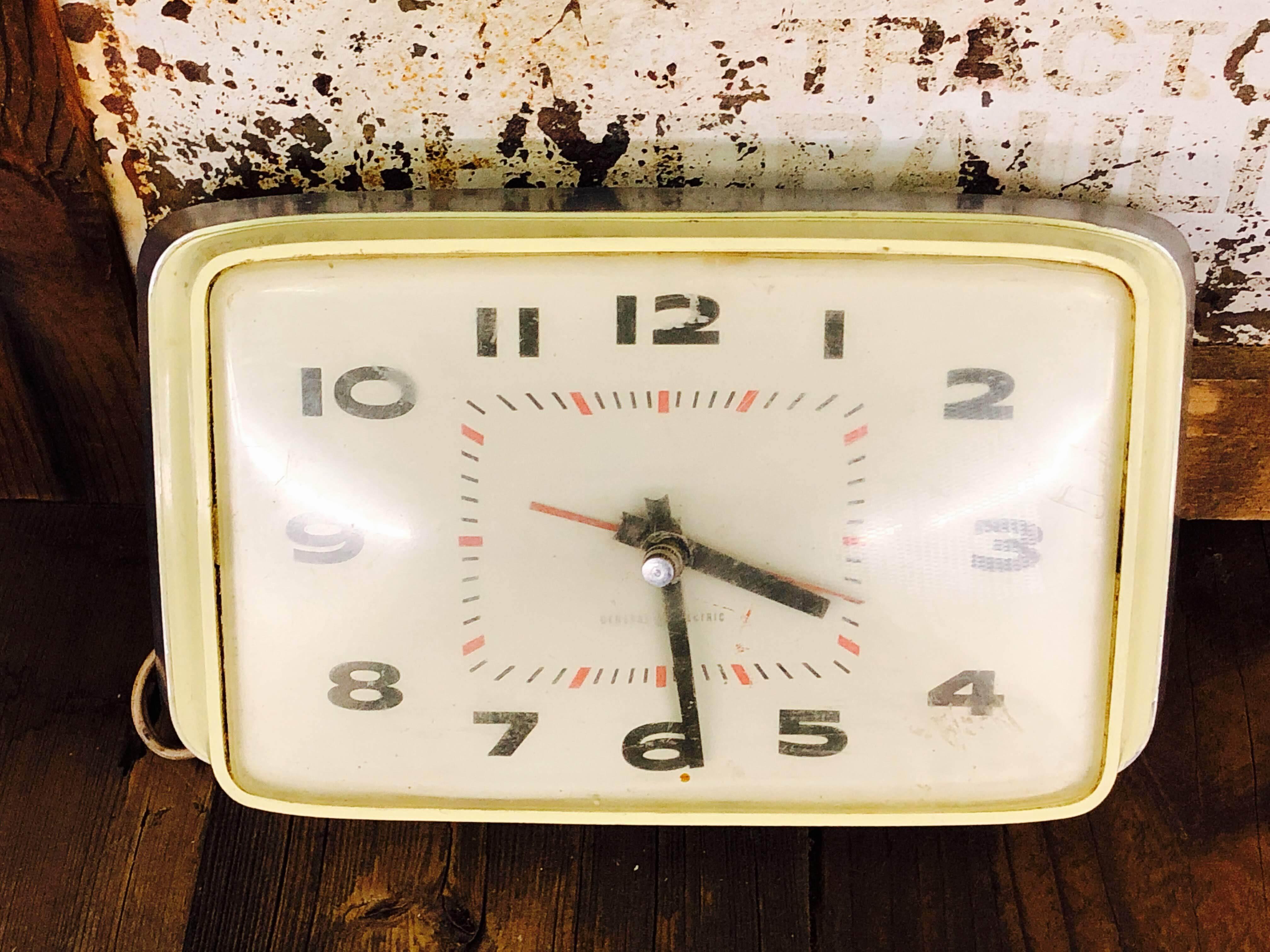 品番1124 掛け時計 GENERAL ELECTRIC(ゼネラルエレクトリック) インテリア アンティーク ヴィンテージ