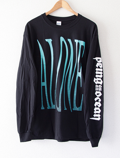 【BEING AS AN OCEAN】Alone Long Sleeve (Black)