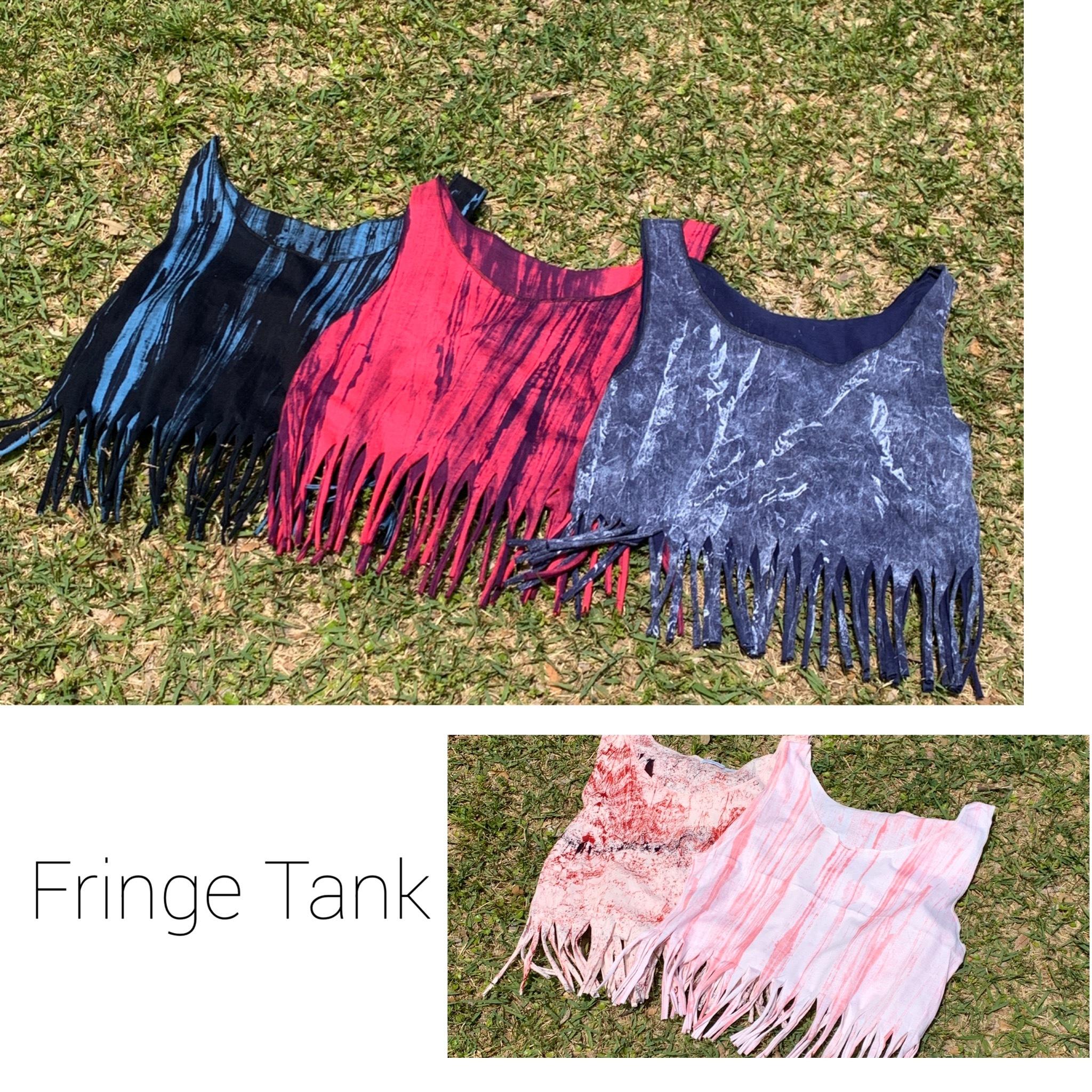Fringe Tank Top