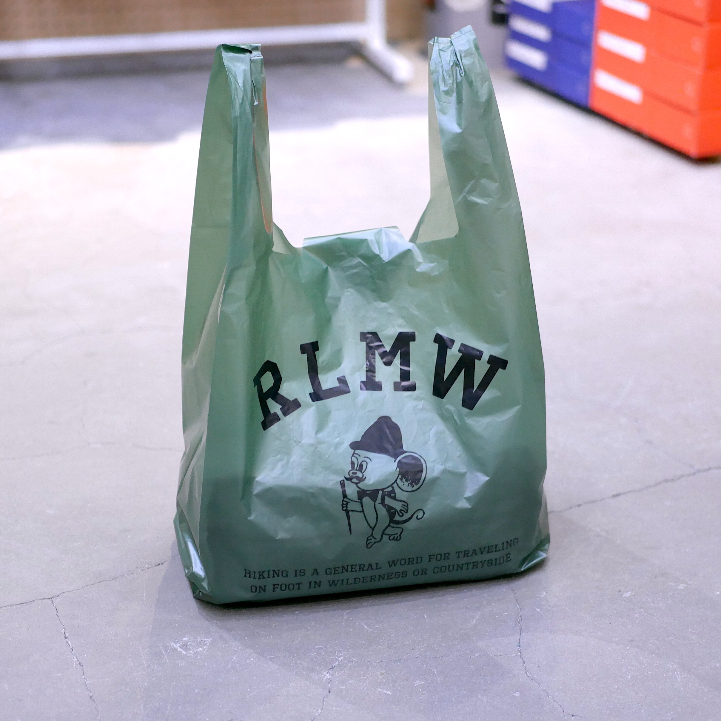 RAWLOW MOUNTAIN WORKS / SHOPPING BAG
