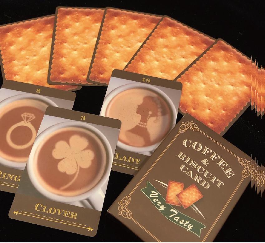 コーヒー&ビスケットカード(32枚デッキ)