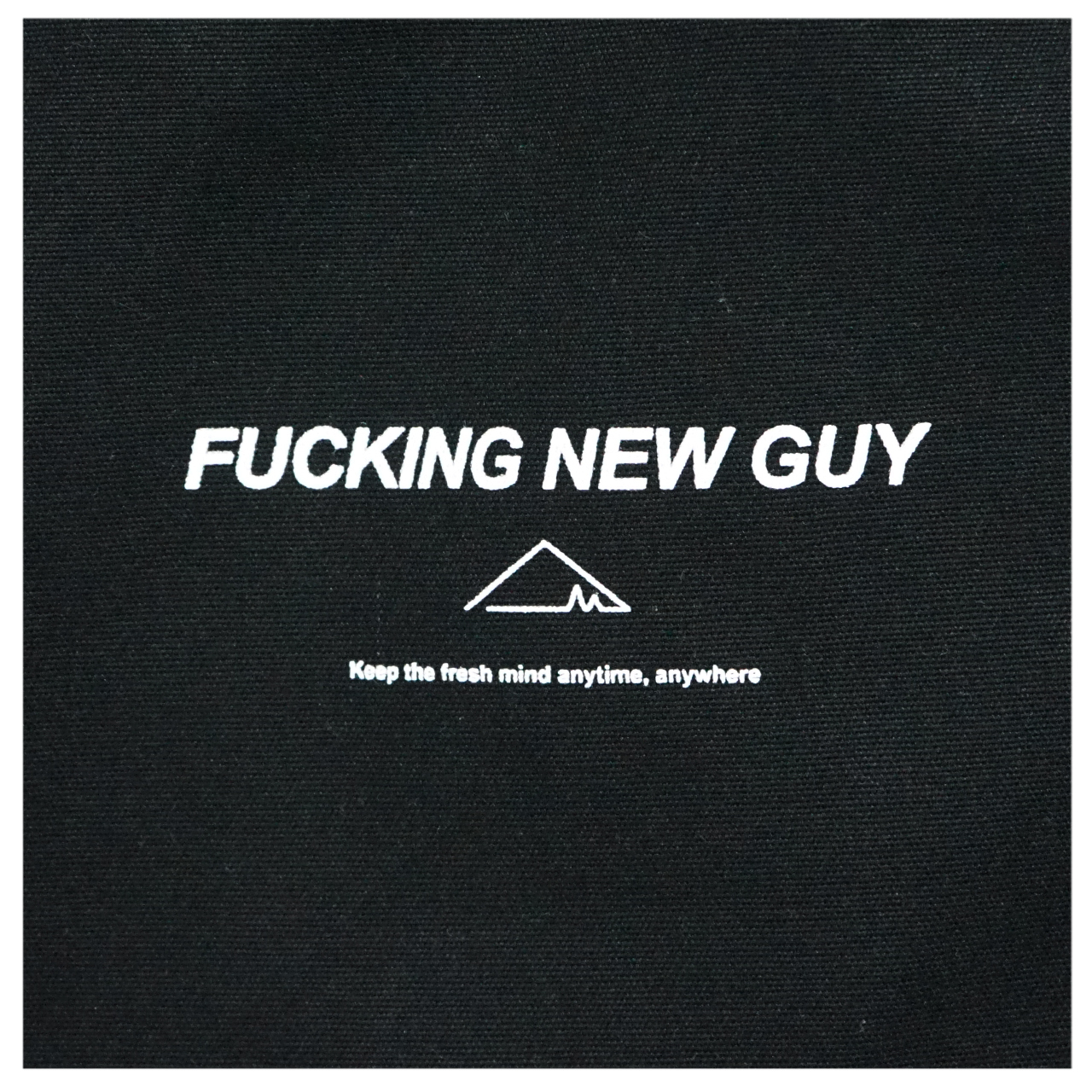 F.N.G /canvas apron (Black×White) - 画像2