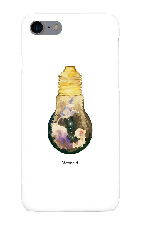 【送料無料】六花デザイナーUMEオリジナル iPhone7 スマホケース【Mermaid】