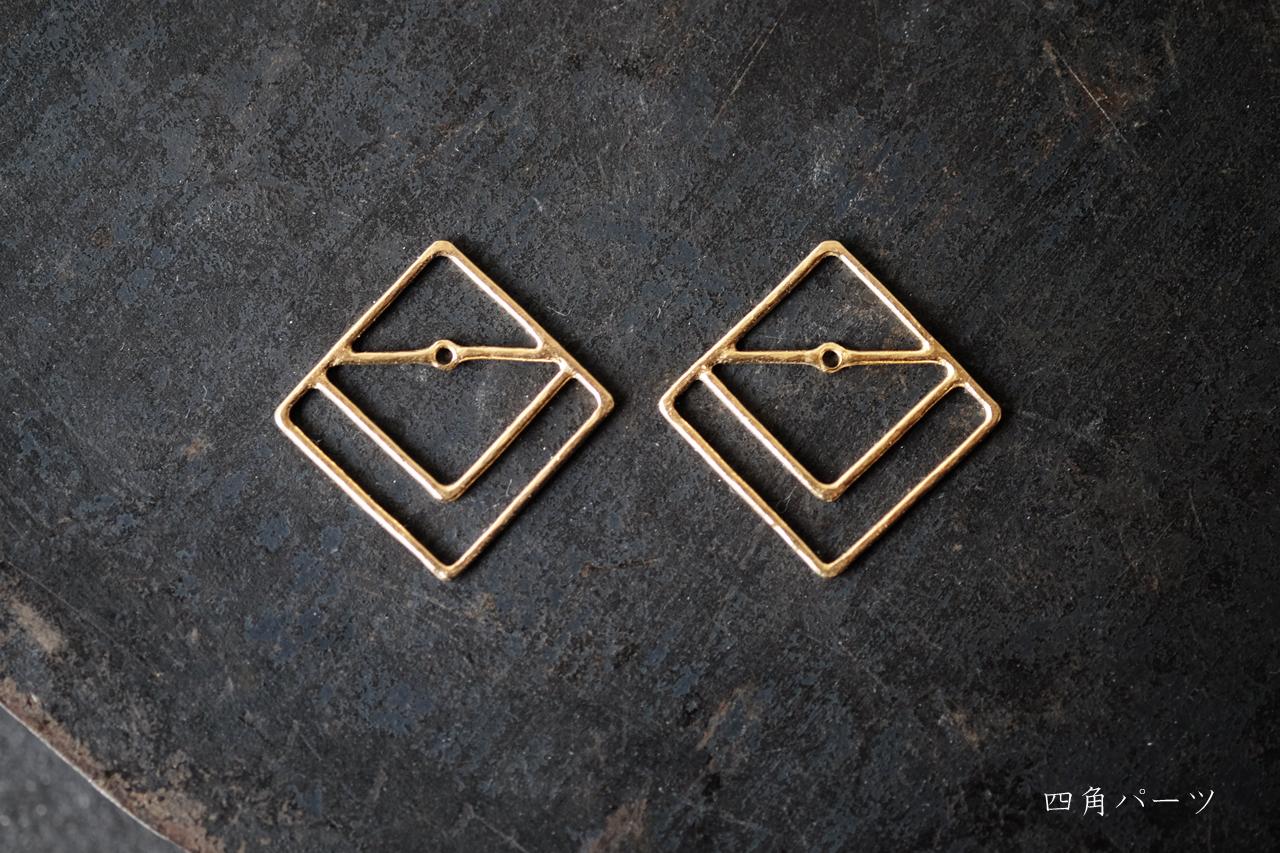 古墳の四角パーツ (gold)