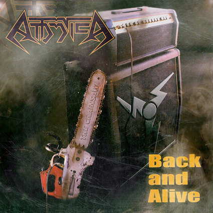 "ATTOMICA ""Back and Alive"" (輸入盤)"