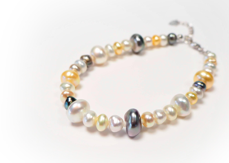 南洋ケシ真珠ブレスレット