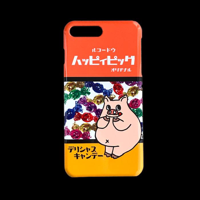 iPhone(Plusシリーズ)ケース キャンディぶたさん