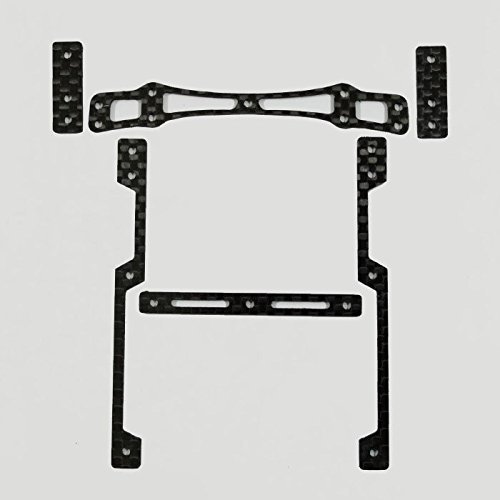 ◆Monster Parts◆ カーボンダンパーセット MS/MA M4WD-060