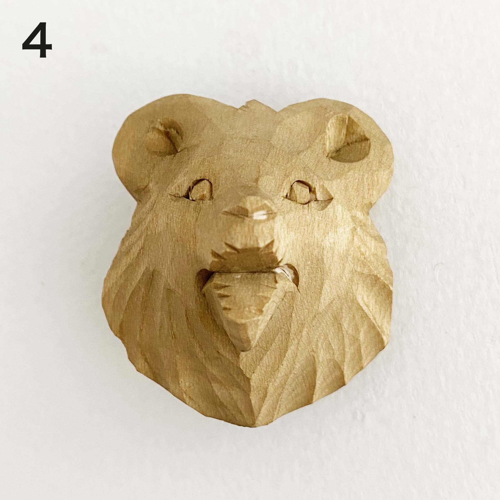 熊のループタイ / 小(ボゴロツコエ産)