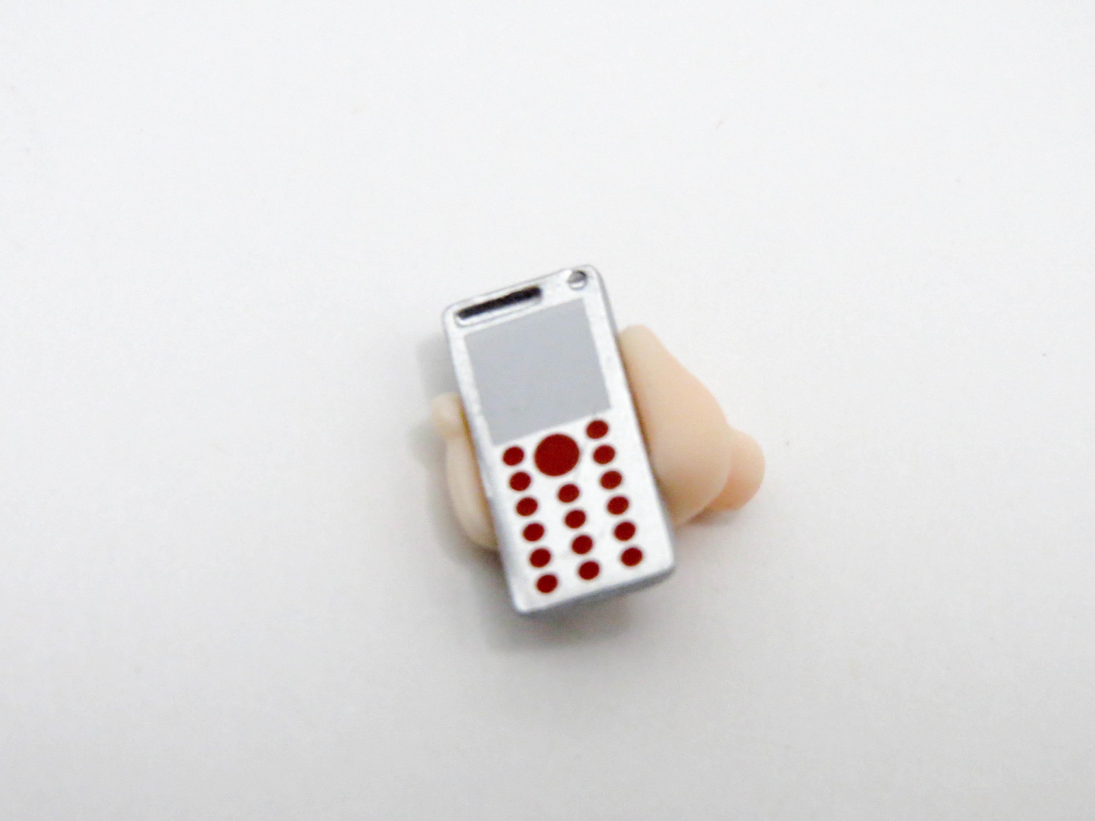 再入荷【404】 羽川翼 小物パーツ 携帯電話 ねんどろいど