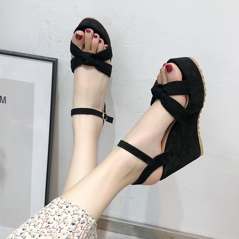 【shoes】ファッション無地ストラップサンダル20496171