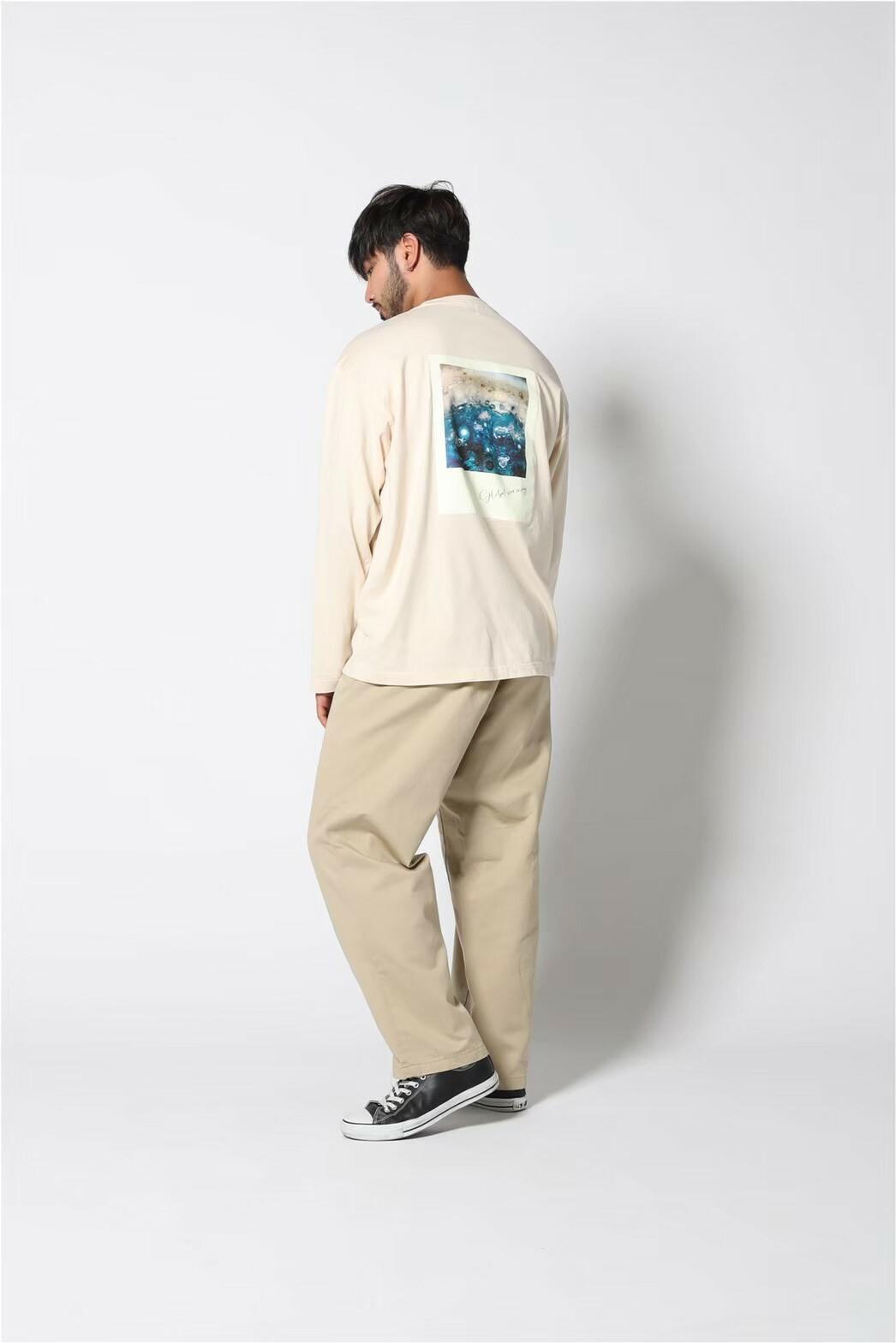 edit clothing  Graphic backprint L/S(グラフィックバックプリントL/S/エクリュ)